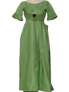 1960's Womens Floor Length Maxi Dress