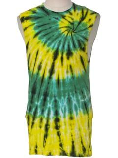 1980's Unisex Hippie Tie Dye T-Shirt