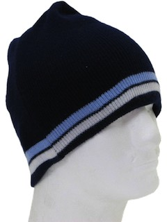1980's Unisex Accessories - Knit Ski Hat