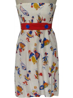 1950's Womens Mini Sun Dress