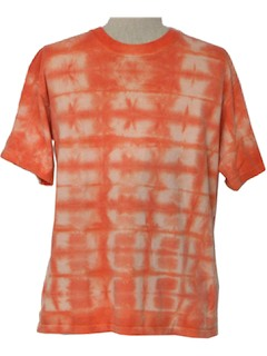 1990's Mens Hippie Tie Dye T-Shirt