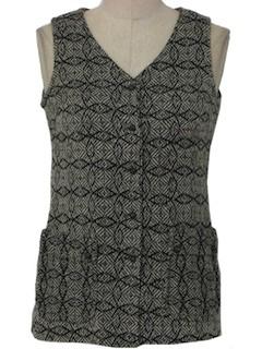 1970's Womens Tunic Vest
