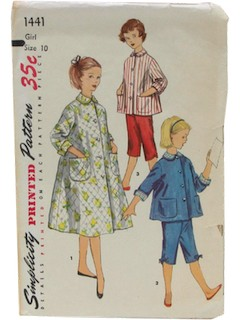 1950's Womens/Child Night Dress Pattern