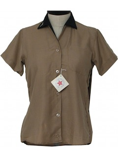 1950's Womens Bowling Shirt