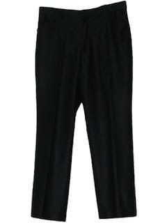 1970's Mens Mod Western Pants