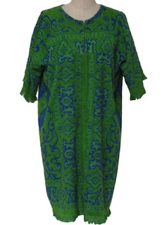 1960's Womens Cover up Dress