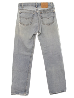 1980's Mens 501 Grunge Levis Denim Jeans Pants