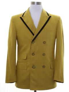 1970's Mens Mod Tuxedo Jacket