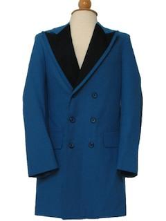 1970's Mens/Boys Mod Tuxedo Jacket