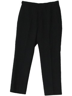 1980's Mens Mod Wool Pants