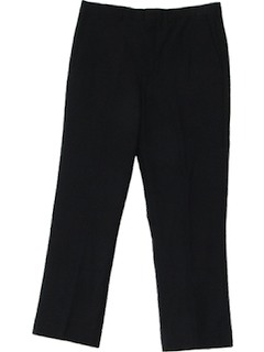 1970's Mens Mod Wool Pants