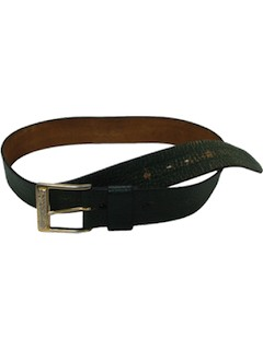 1970's Mens Leather Belt