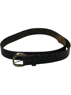 1980's Mens Accessories - Leather Belt