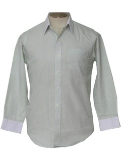 1990's Mens 90s Dress Shirt