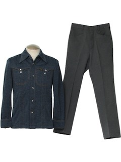 1970's Mens Leisure Combo Suit