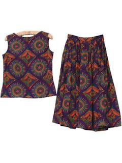 1950's Womens Print Dress*