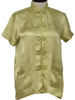 1970's Womens Asian Shirt
