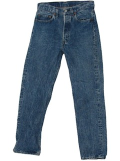 1980's Mens Stone Washed jeans