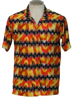 1990's Mens Wicked 90s Club/Rave Shirt