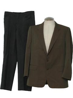 1970's Mens Mod Combo Suit