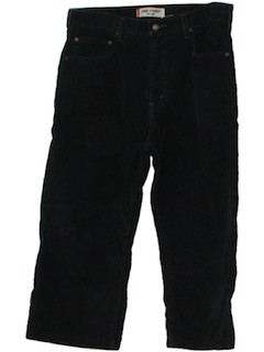 1990's Mens Corduroy Jeans-Cut Waders Pants