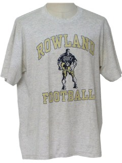 1980's Mens Football T-Shirt