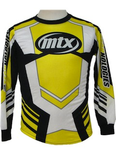 1990's Unisex Knit Motocross Shirt