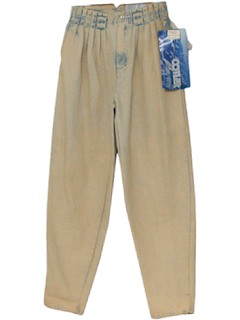 1980's Unisex Totally 80s Acid Wash Pants