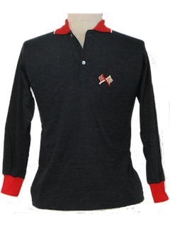 1960's Mens/Boys Mod Knit Shirt