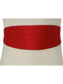 1980's Mens Accessories Totally 80s cummerbund