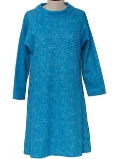 1970's Womens Frock Dress