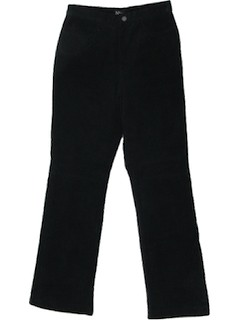 1980's Womens Jeans-Cut Leather Pants