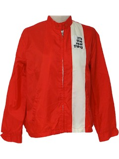 1970's Womens Racing Jacket
