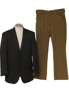 1980's Mens Disco Combo Suit