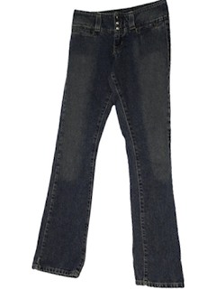 1990's Womens Flared Jeans Pants