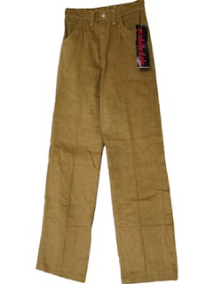 1970's Womens Corduroy Jeans-Cut Pants