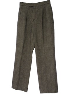 1970's Mens Pleated Pants