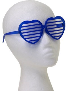 1980's Womens Accessories - Totally 80s Shutter Shades Sunglasses