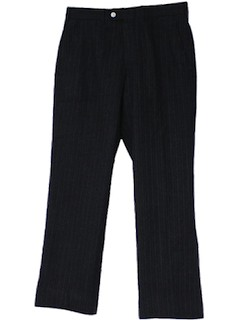 1970's Mens Wool Dress Pants