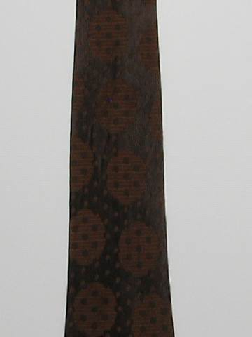 1970's Mens Wide Sharkskin Necktie