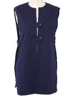 1970's Womens Tabbard Vest