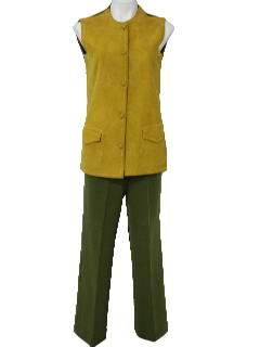1960's Womens Mod Pantsuit