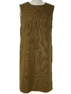 1960's Womens Sleeveless Dress