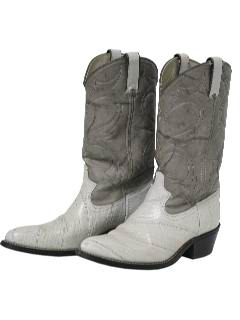 1980's Womens Accessories - Shoes / Cowboy Boots