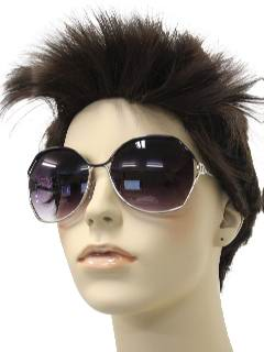 1980's Womens Accessories - Totally 80s Oversized Sunglasses