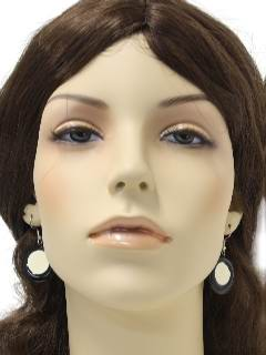 1960's Womens Accessories - Jewelry / Mod Earrings