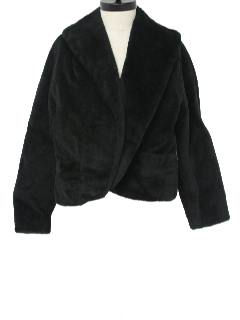 1950's Womens Fake Fur Jacket