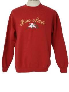 1980's Unisex Minimalist Ugly Christmas Sweatshirt
