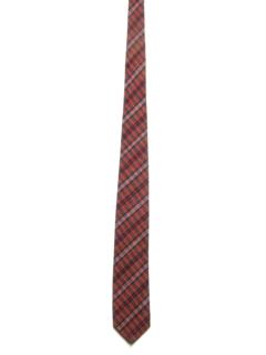 1960's Mens Skinny Mod Rockabilly Necktie