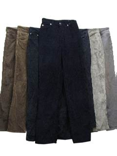 1990's Wholesale Womens Corduroy Pants (7 pieces)